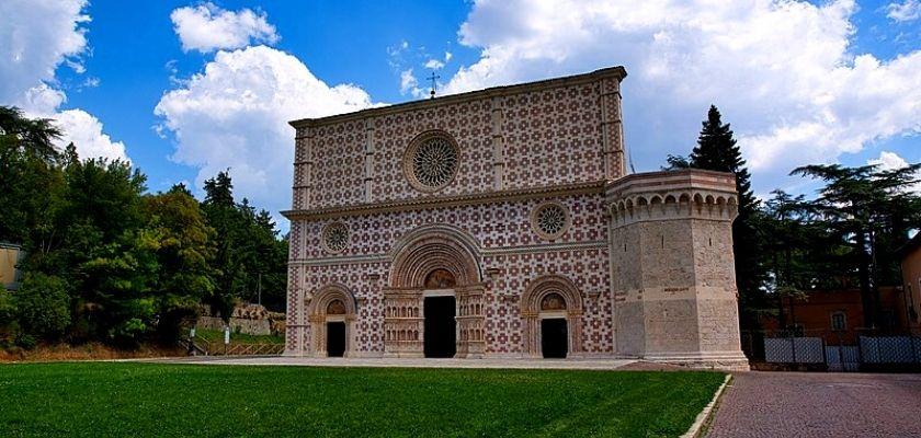 Cammino delle terre mutate: la basilica di Collemaggio a L'Aquila