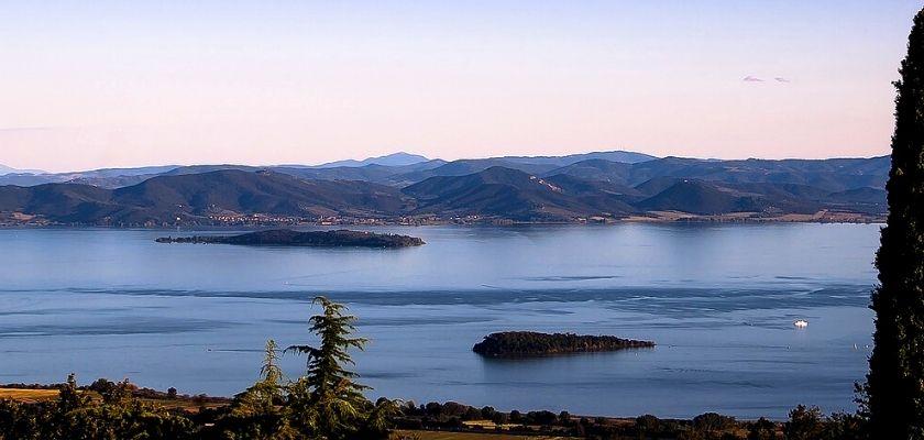Via Romea Germanica: il lago Trasimeno