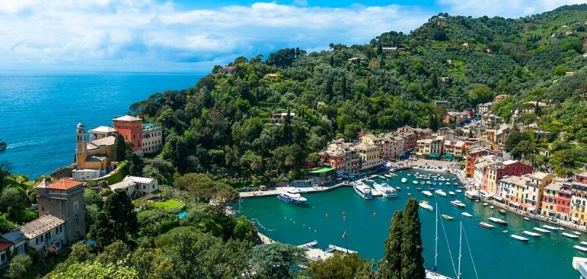 La via del Sale Varzi. Portofino